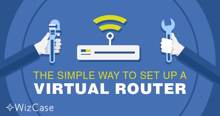Nastavení virtuálního routeru na systému Windows pomocí VPN