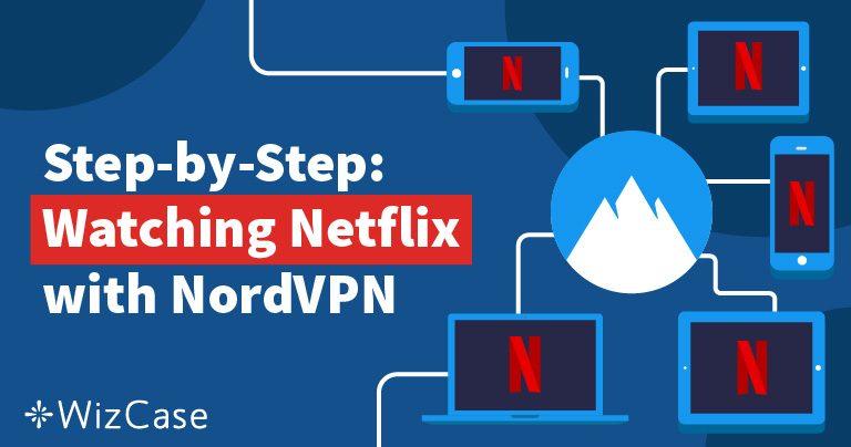 Odblokování služby Netflix pomocí NordVPN je rychlé, levné a snadné