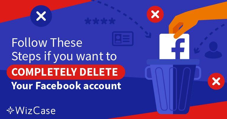 5 kroků k 100% odstranění vašich údajů z vašeho Facebook účtu