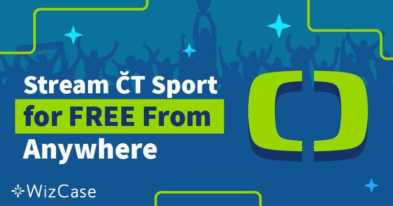 Jak sledovat ČT Sport zdarma mimo Českou republiku