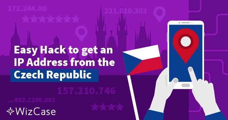 Jak sehnat českou IP adresu ve dvou krocích
