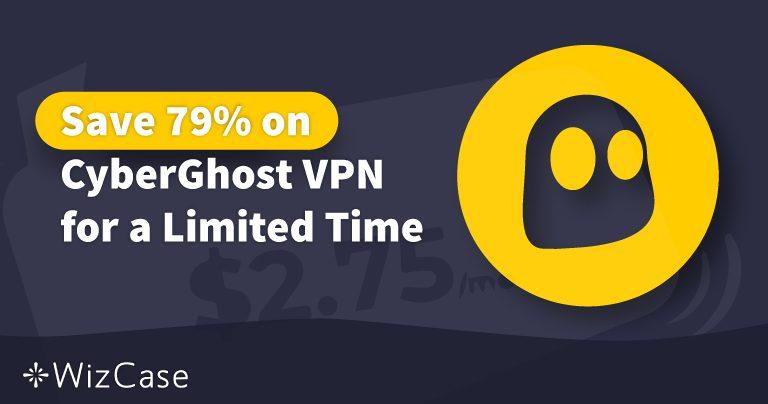 Platný poukaz na CyberGhost VPN 2020: Ušetřete ještě dnes až 79%